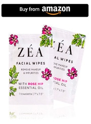 ZEA Makeup Remover Wipes _ Infused with Rose Hip Essential Oil